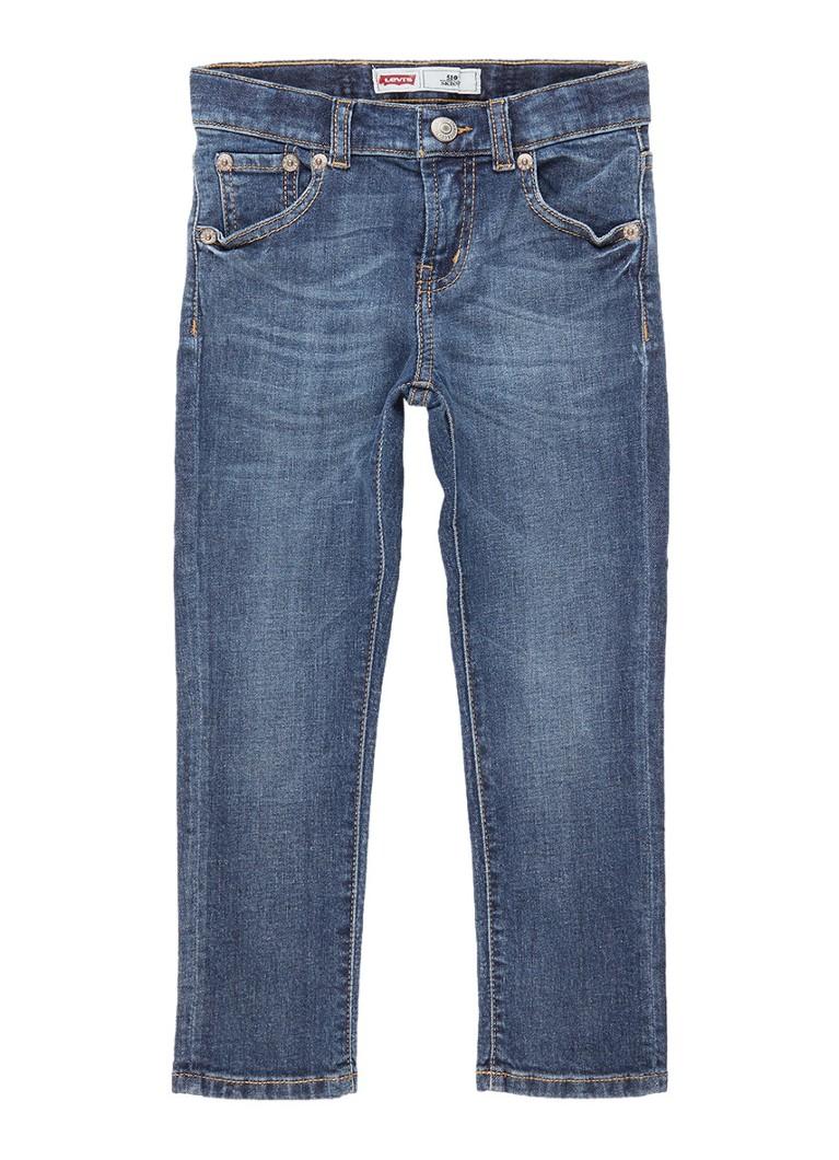 Levi's 510 skinny fit jeans met vintage look
