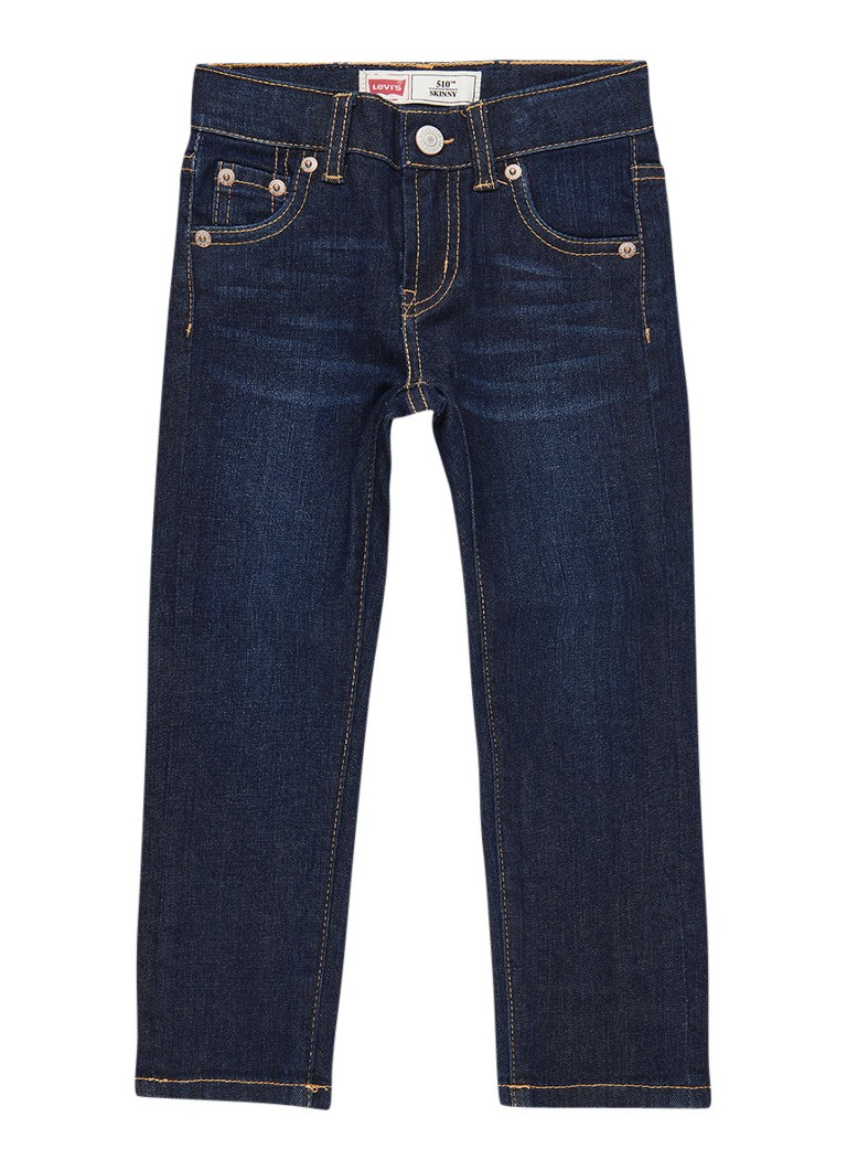 Levi's 510 skinny fit jeans met donkere wassing
