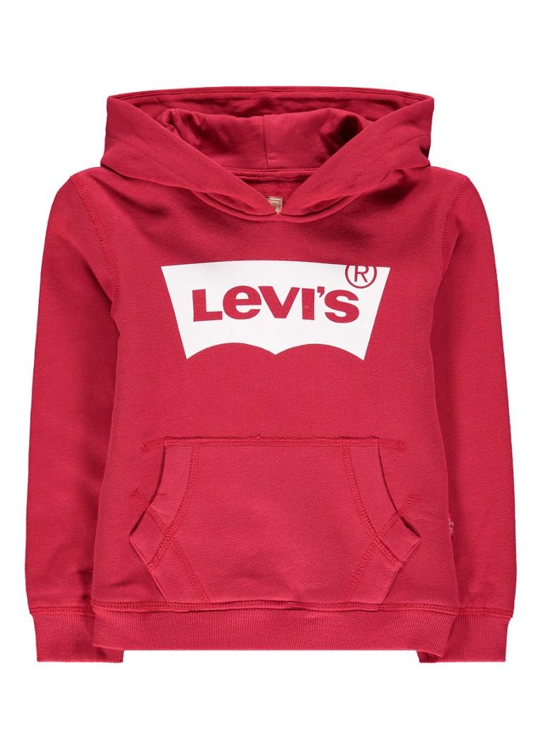Levi's Batsweat hoodie met merkprint