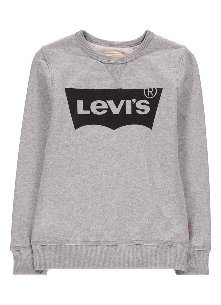 Levi's Batsport sweater met merkprint