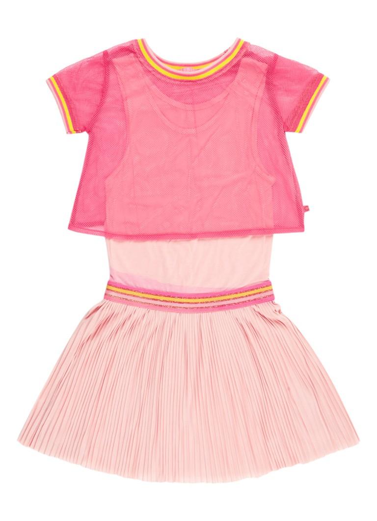 LE BIG Ebony Alijn jurk met