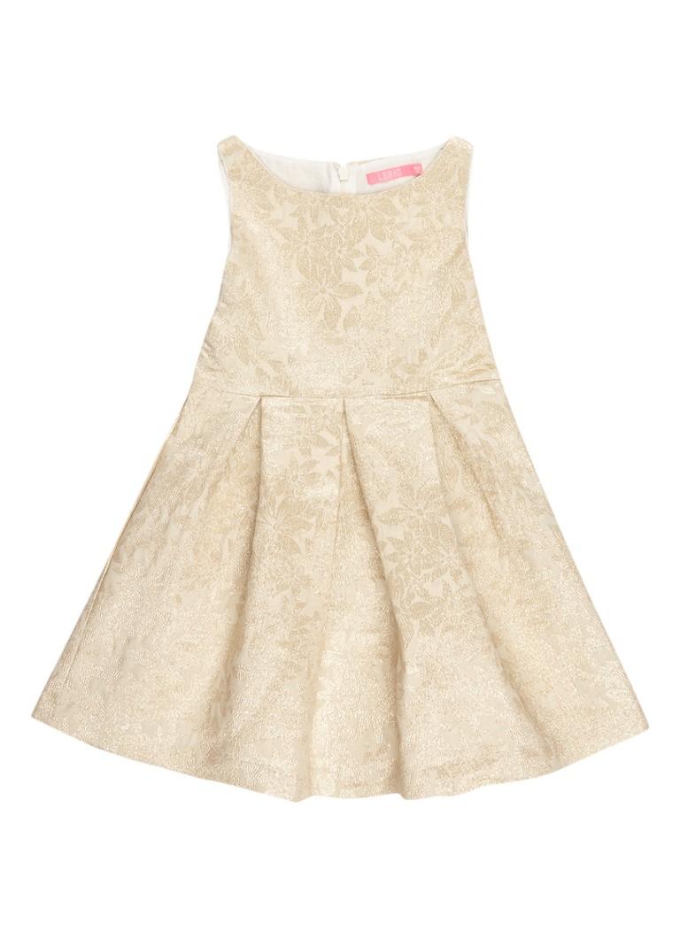 LE BIG Dahlia jurk met lurex