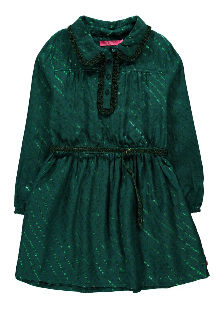 LE BIG Gaby Alijn jurk met ruches