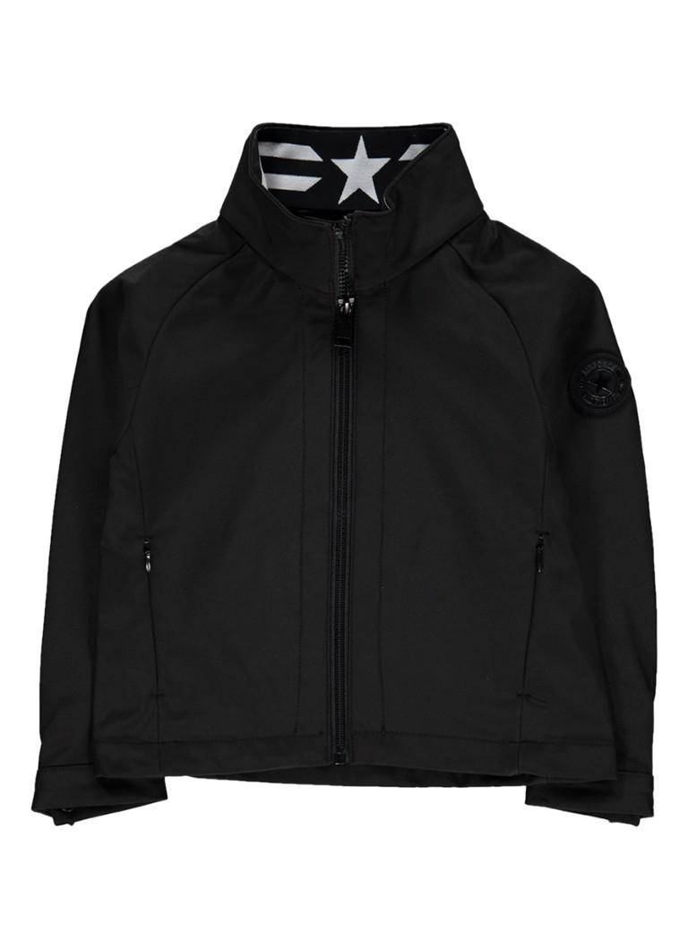 Airforce Softshell jacket met merkembleem