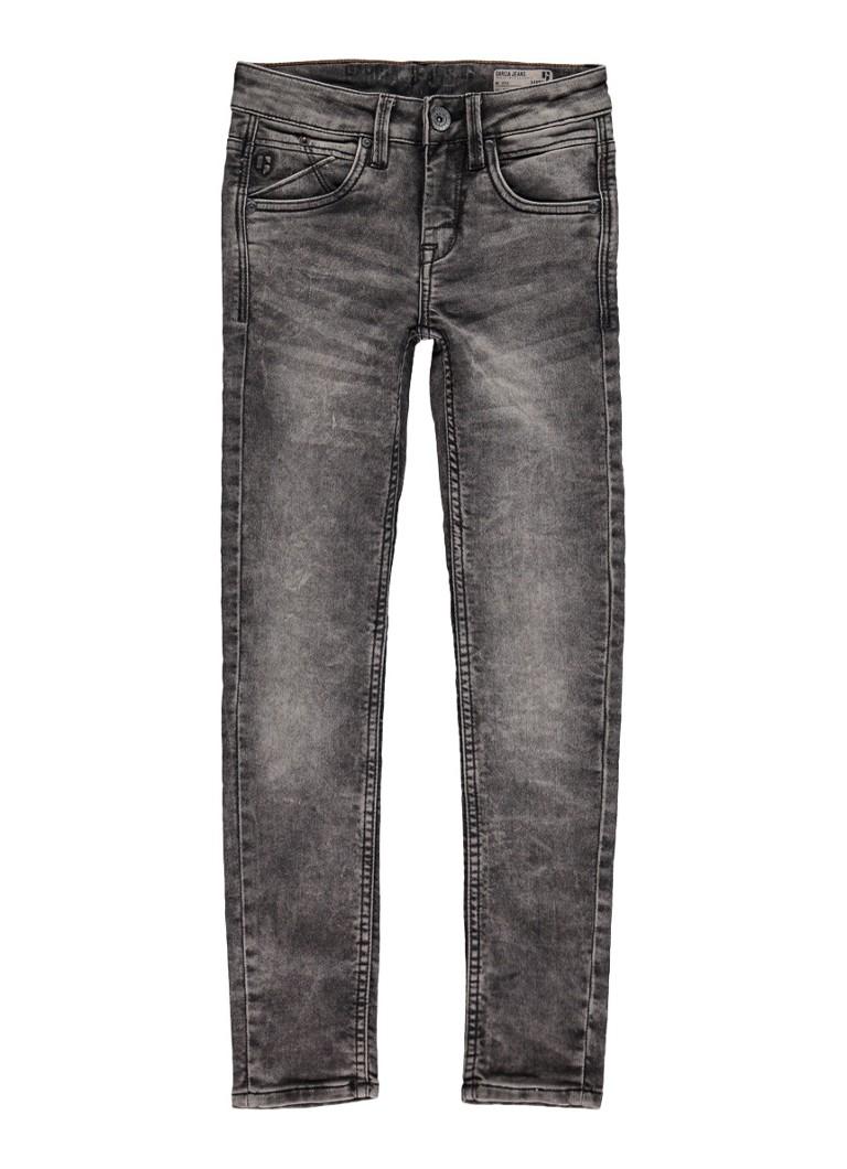 Garcia Jeans Xandro super slim fit jeans met faded look