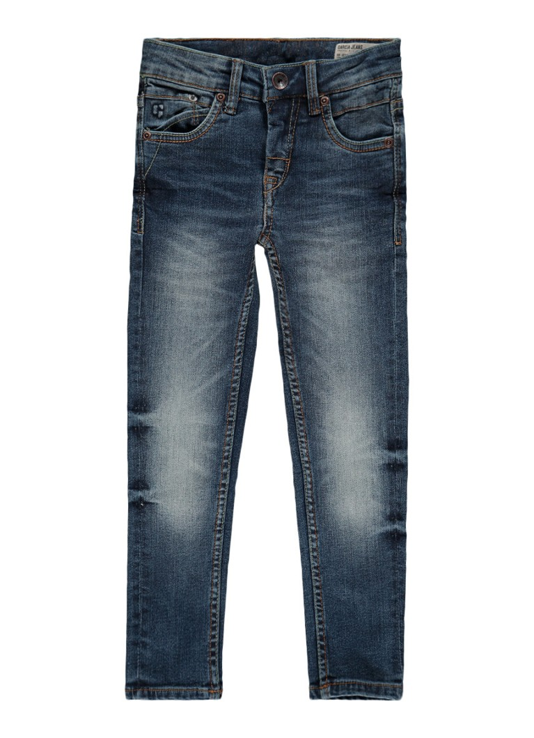 Garcia Jeans Xandro slim fit jeans met medium wassing