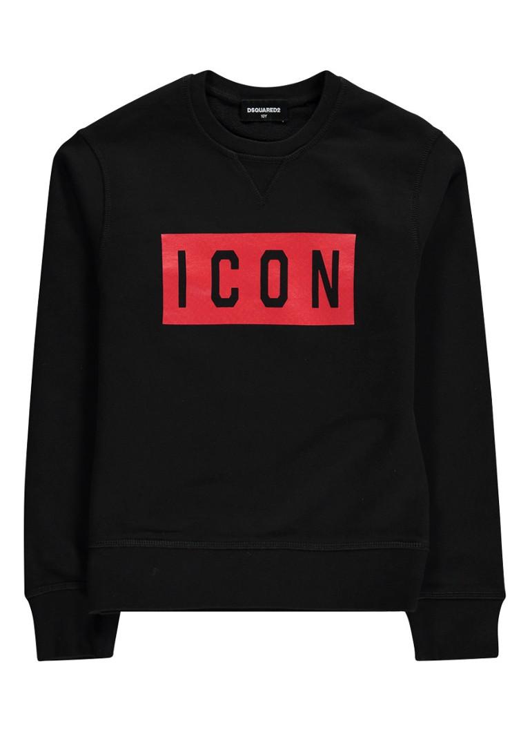 Dsquared2 Icon sweater met logoprint