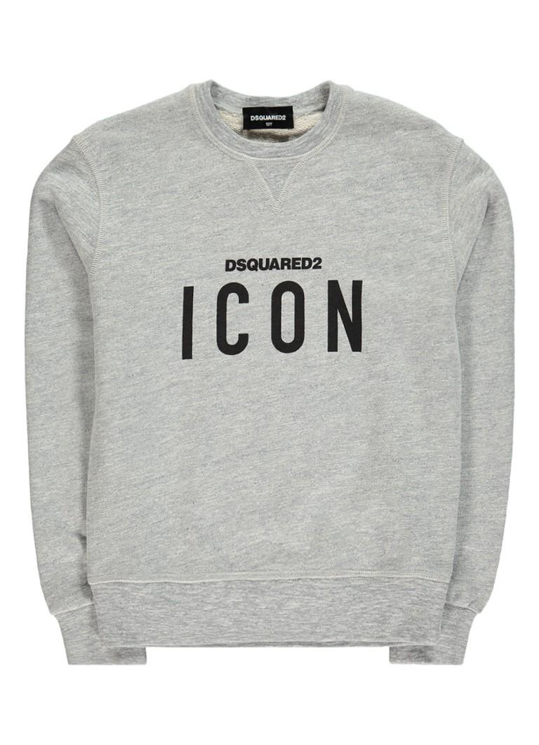 Dsquared2 Icon sweater met tekstopdruk