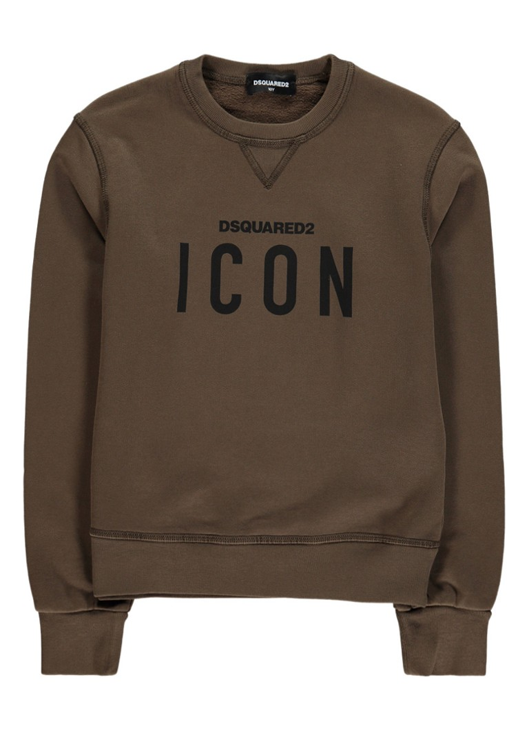 Dsquared2 Icon sweater met logoprint