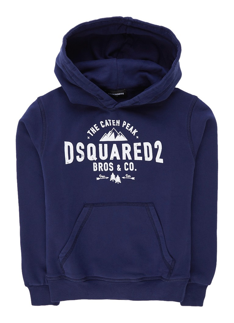 Dsquared2 Hoodie met logoprint
