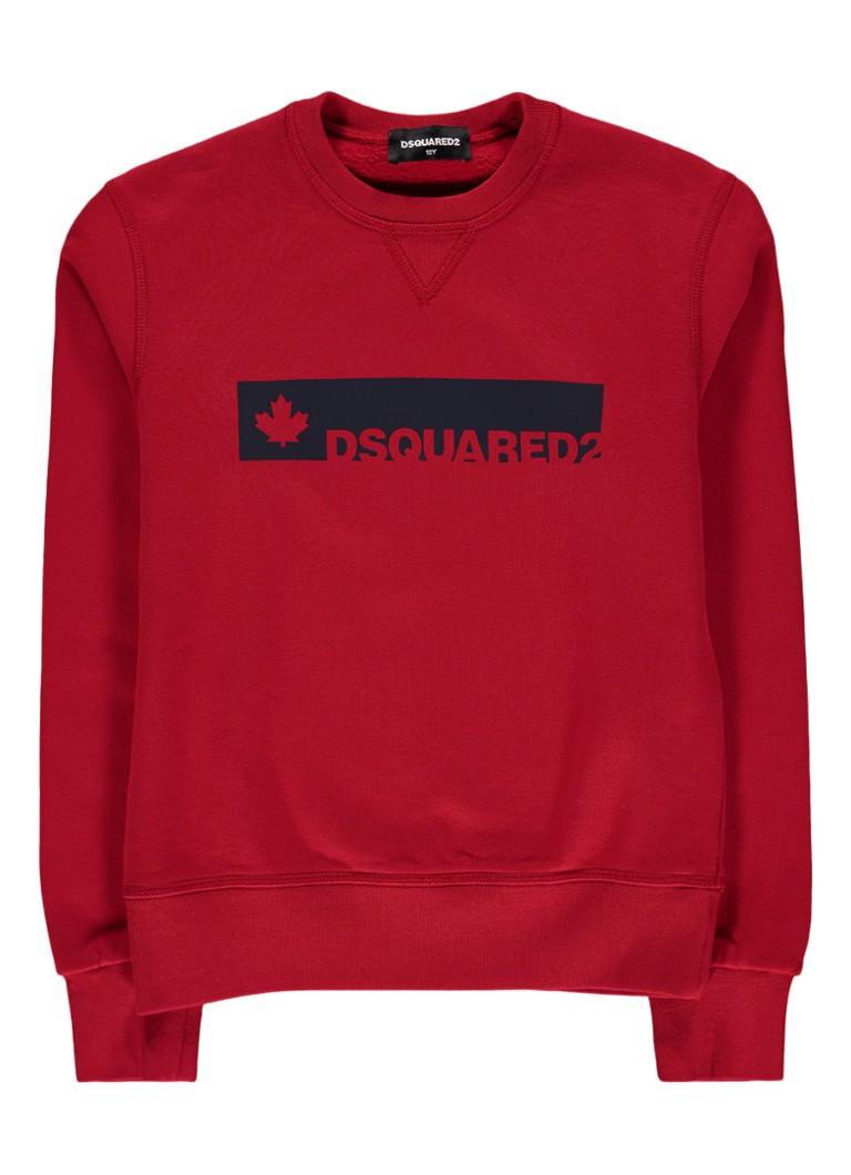 Dsquared2 Sweater met logo opdruk