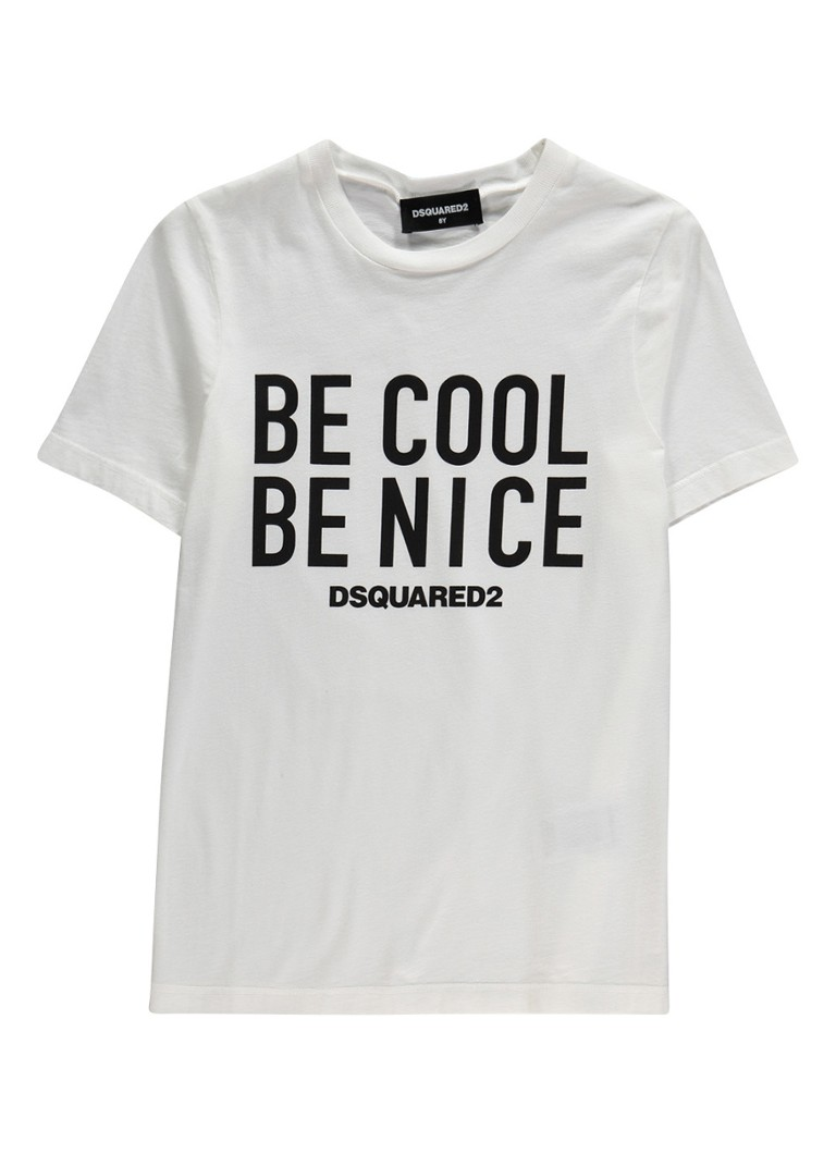 Image of Dsquared2 Be Nice t-shirt van katoen