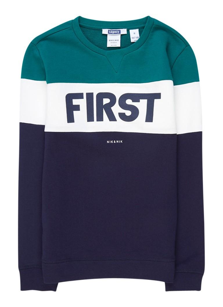 NIK and NIK Philemon sweater met print