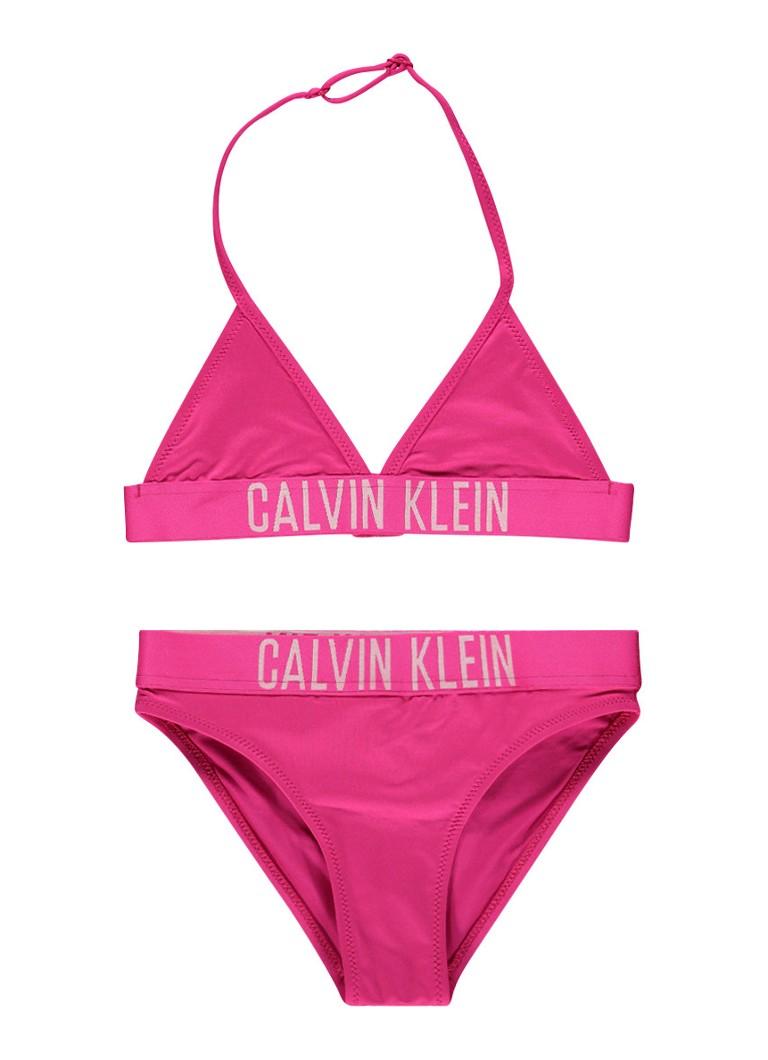 Calvin Klein bikini met logo opdruk