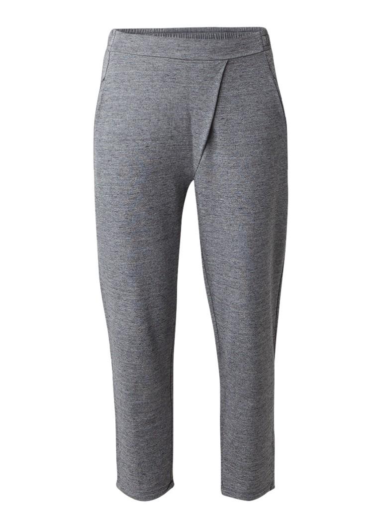 Moscow Sweatpants met vouwdetail grijs