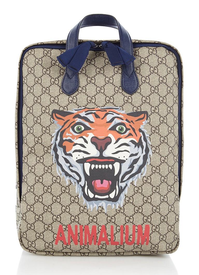 Gucci GC Animalium rugtas met tijger