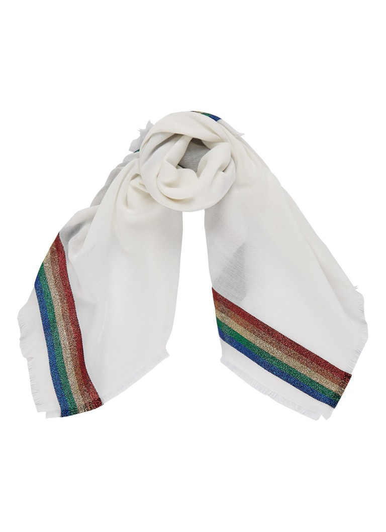 Gucci Loved sjaal met glitter detail 80 x 80 cm
