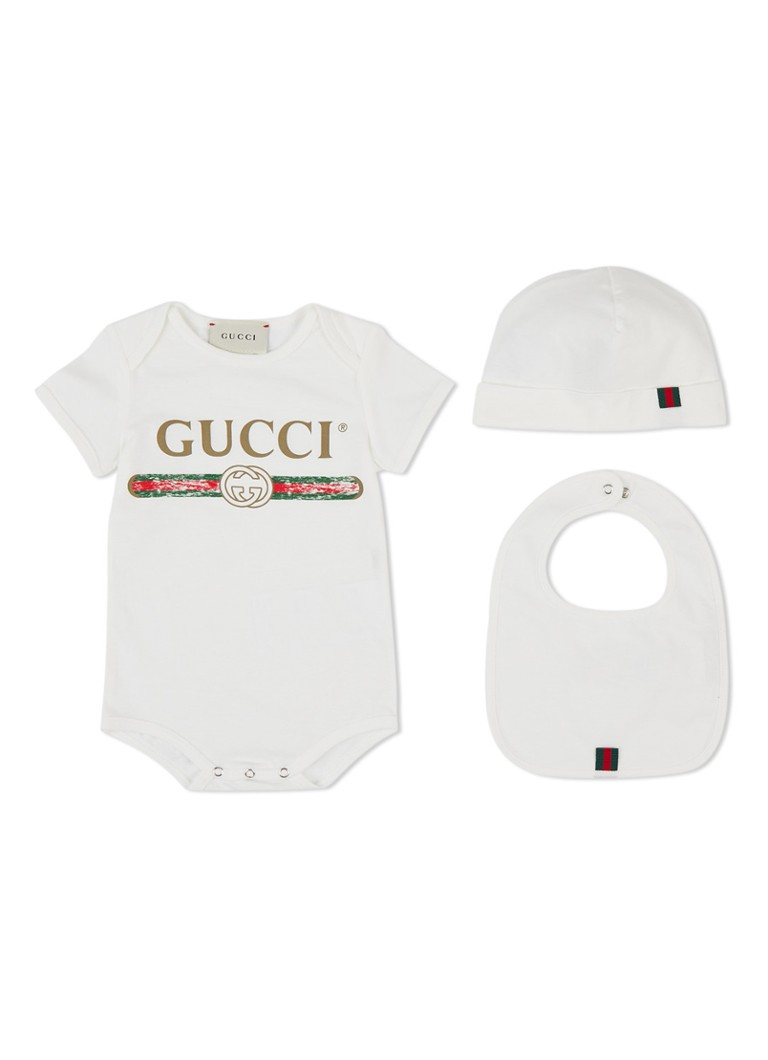 Gucci Giftbox met romper 3-delig