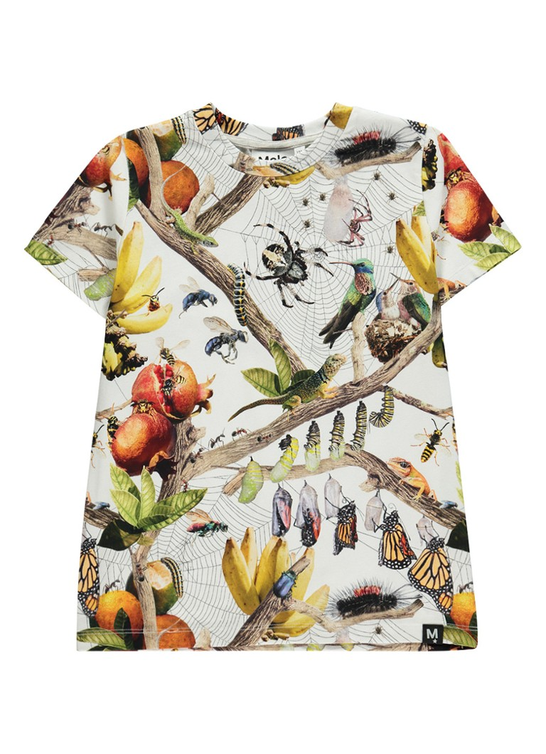 Molo Raddix T-shirt met dierenprint