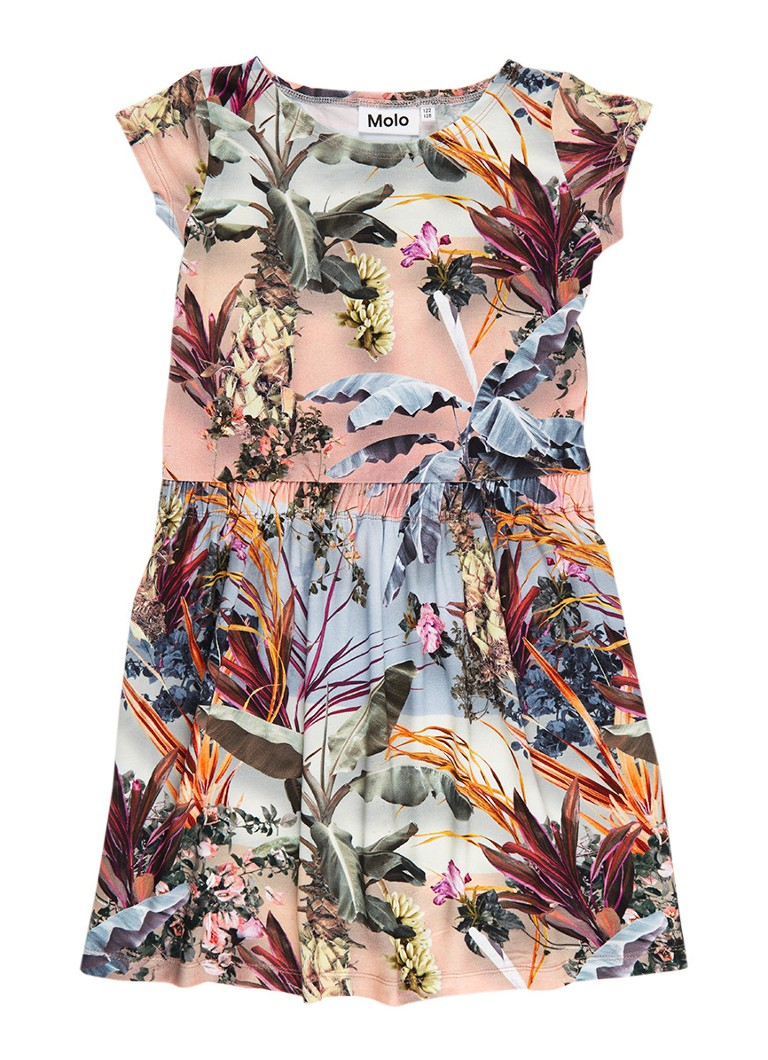 Molo Carla A-lijn jurk met bloemenprint