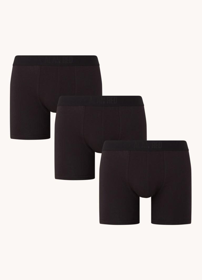 Alan Red Colin boxershorts met logoband in -pack