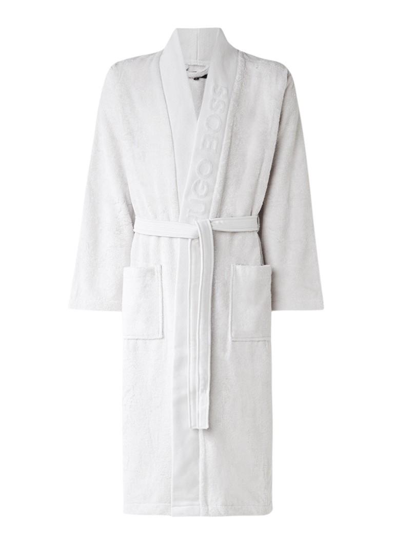 HUGO BOSS Plain badjas van katoen