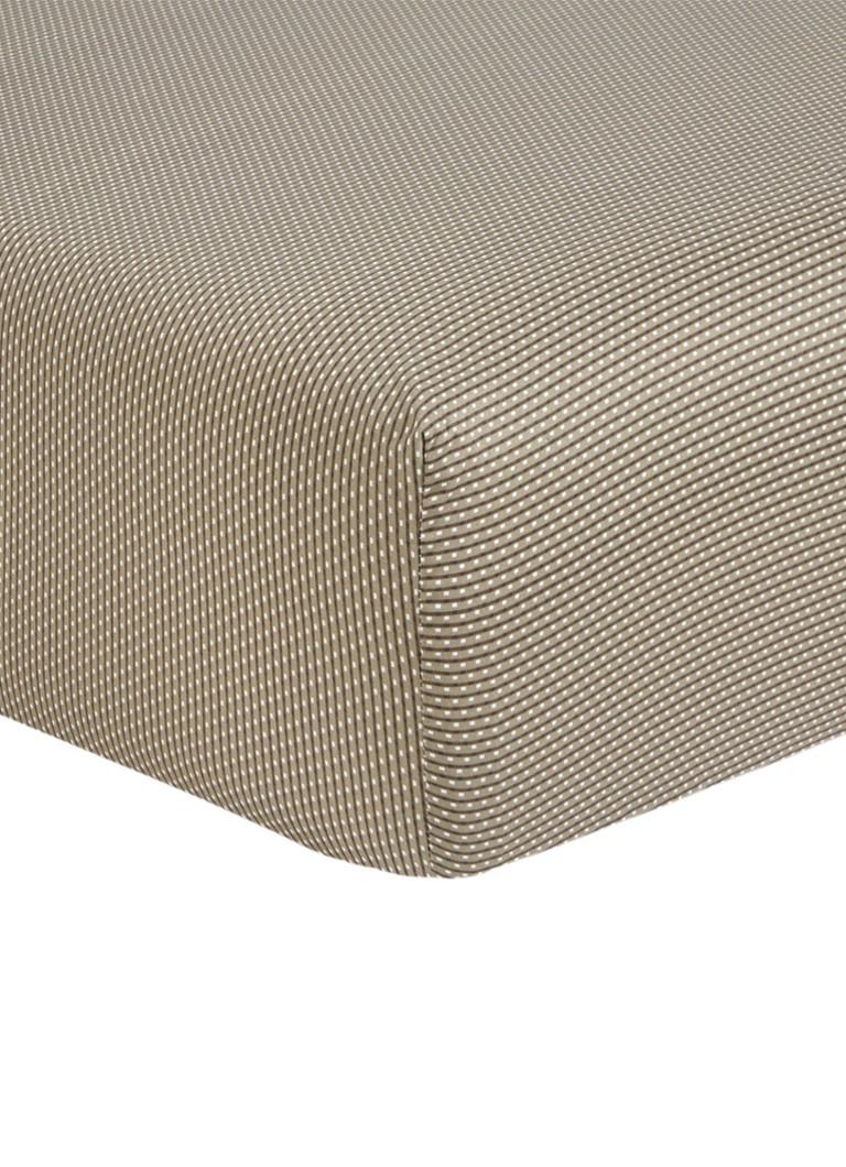 HUGO BOSS Aran hoeslaken van katoenasatijn 300TC. hoekhoogte 30 cm