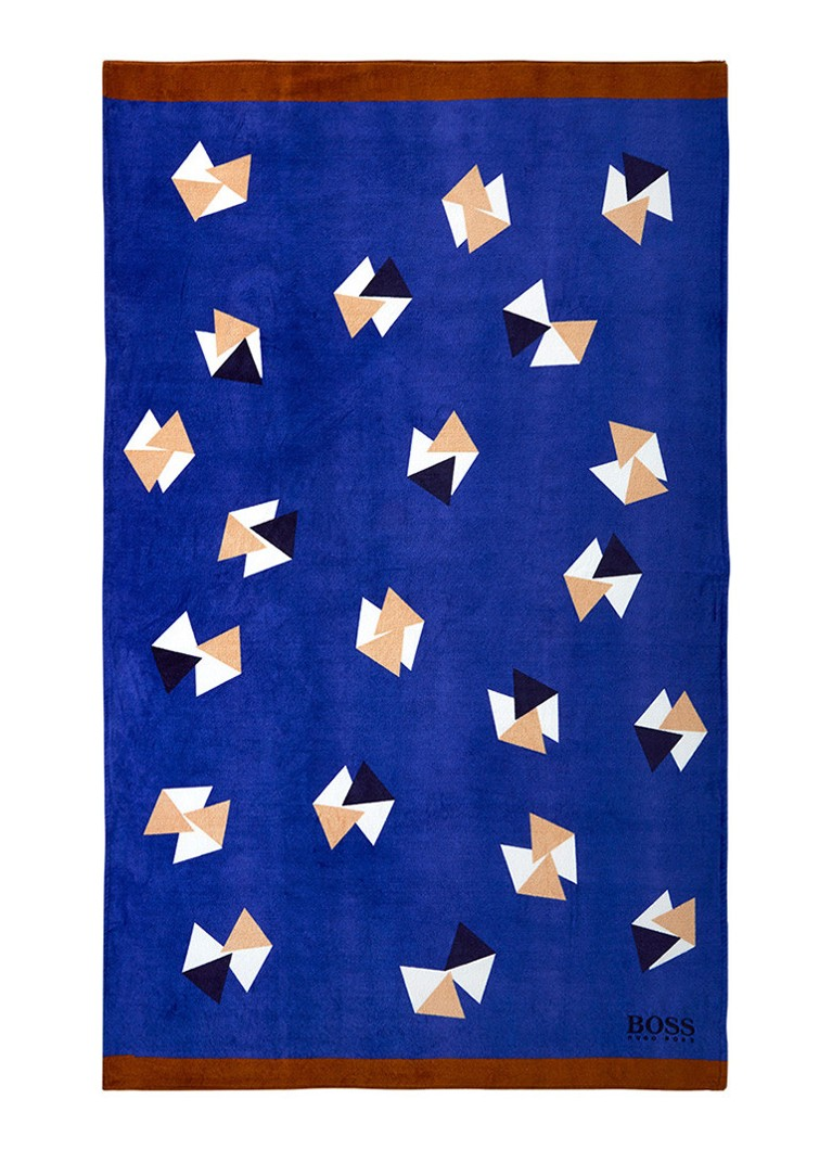 HUGO BOSS Origami strandlaken 100 x 170 cm