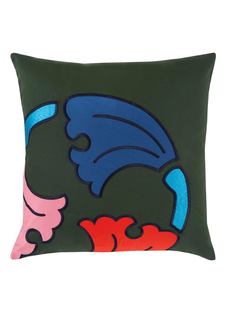 KENZO Anamic kussensloop van katoensatijn