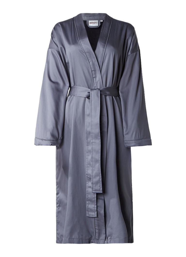 KENZO Signature badjas van katoen