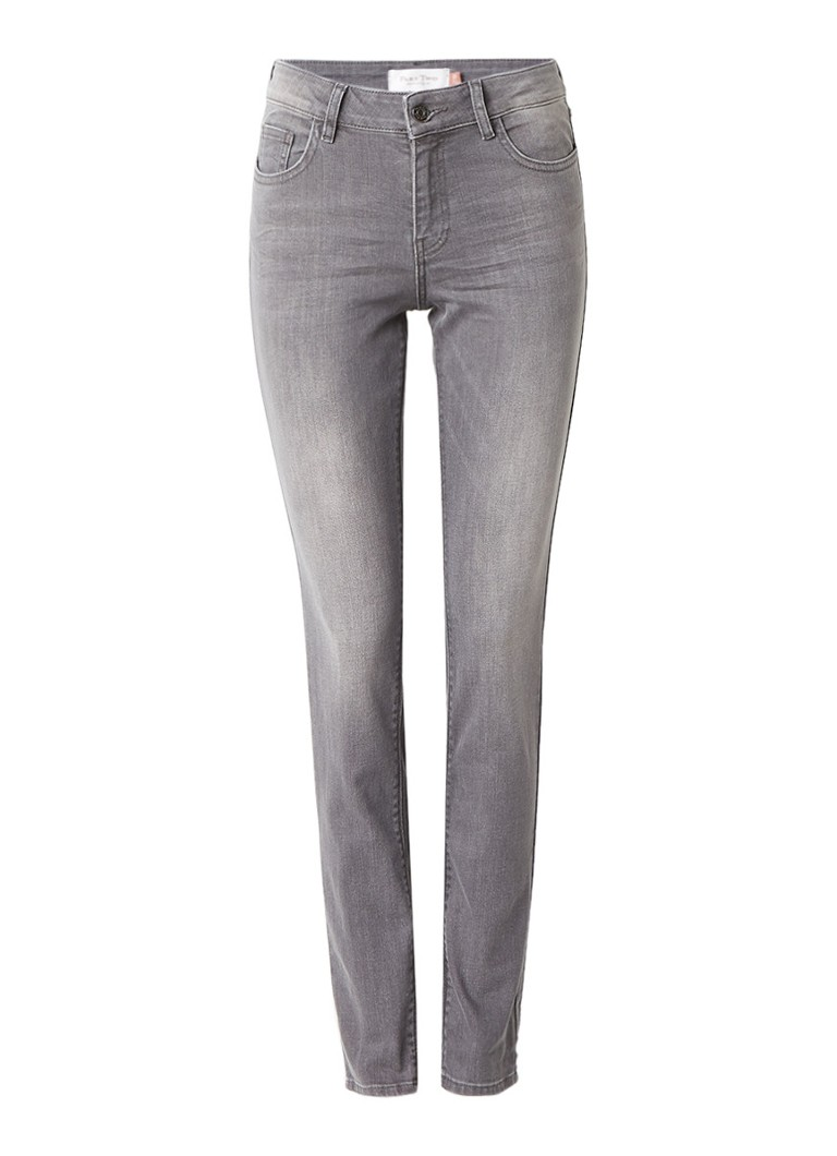 Part Two Alice skinny slim fit jeans met faded look