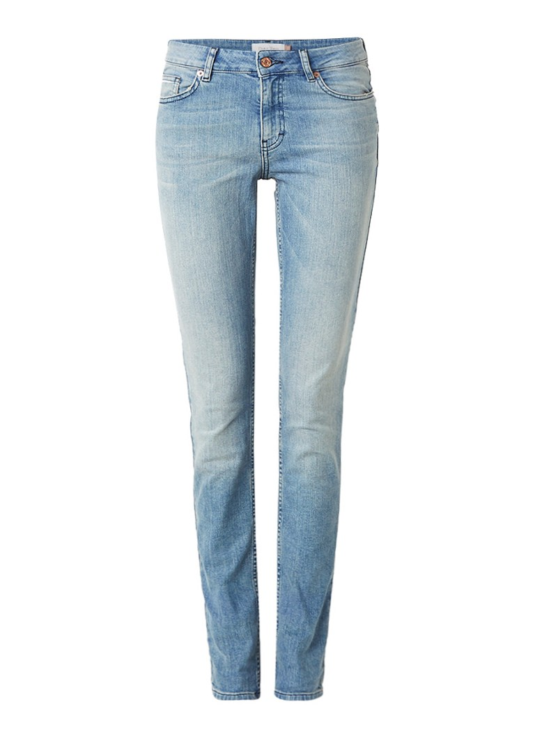 Part Two Alecia high rise slim fit jeans met faded look