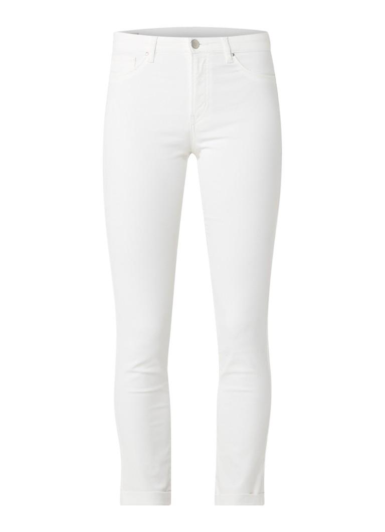 InWear Zulu cropped skinny jeans met omslag blauw
