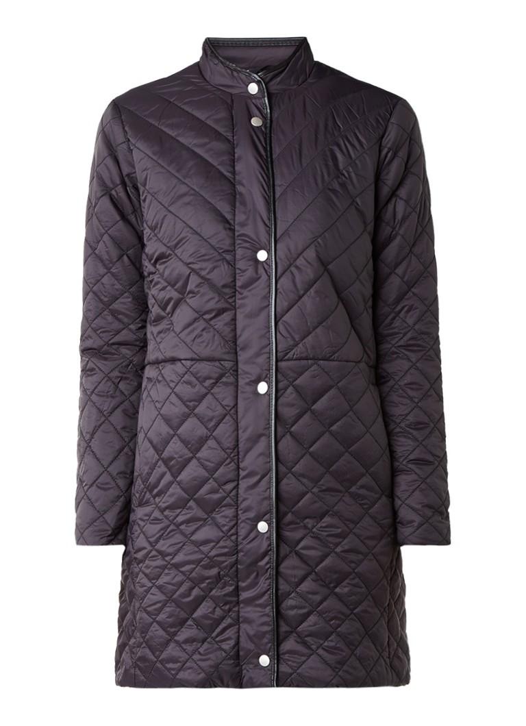 InWear Zaria gewatteerde jas met steekzakken blauw