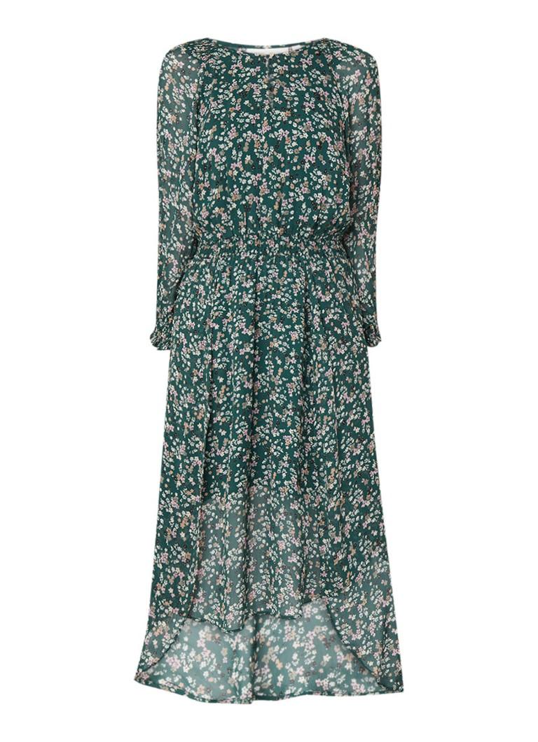 InWear Hayden maxi-jurk met bloemendessin donkergroen