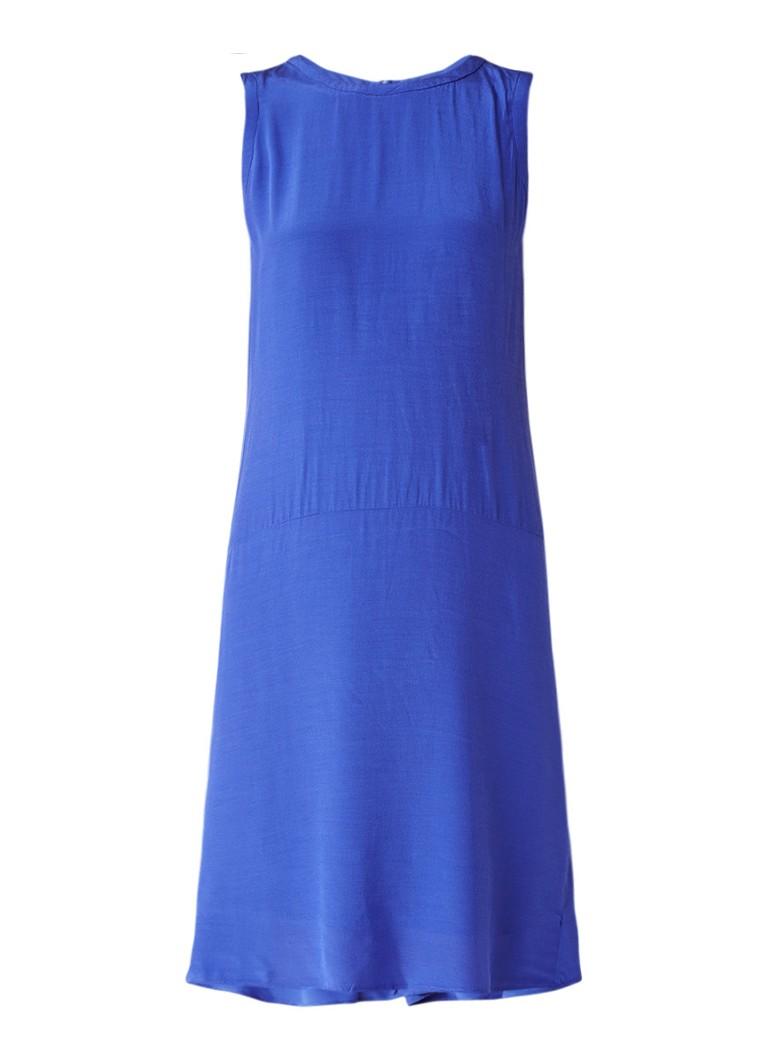 InWear Gemma mouwloze jurk met ritssluiting kobaltblauw