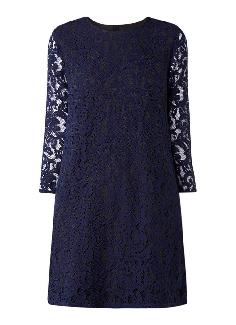 InWear Marley gelaagde jurk van kant donkerblauw