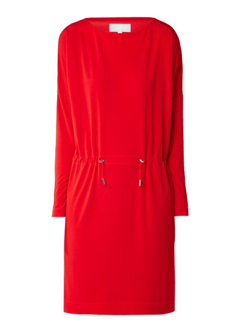 InWear Tinne tuniekjurk met trekkoord rood