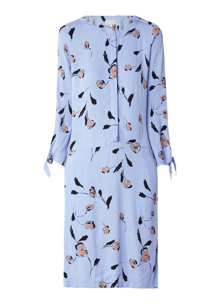 InWear Brooklyn blousejurk met bloemendessin lila