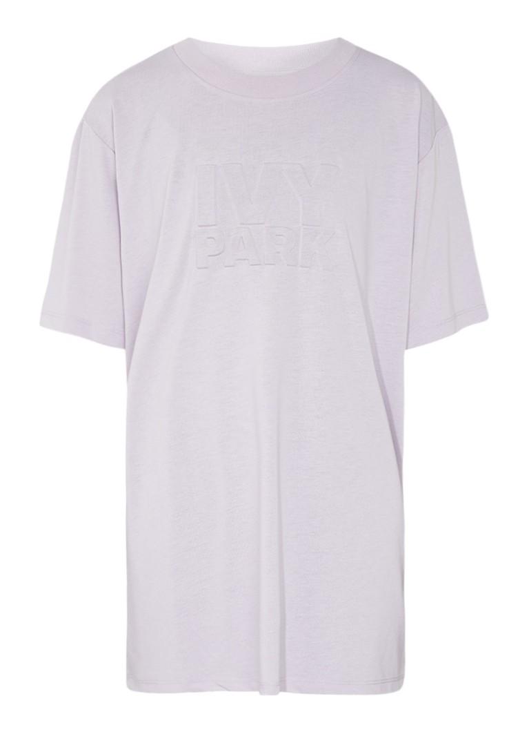 IVY PARK Oversized T-shirt met gestanste logoprint
