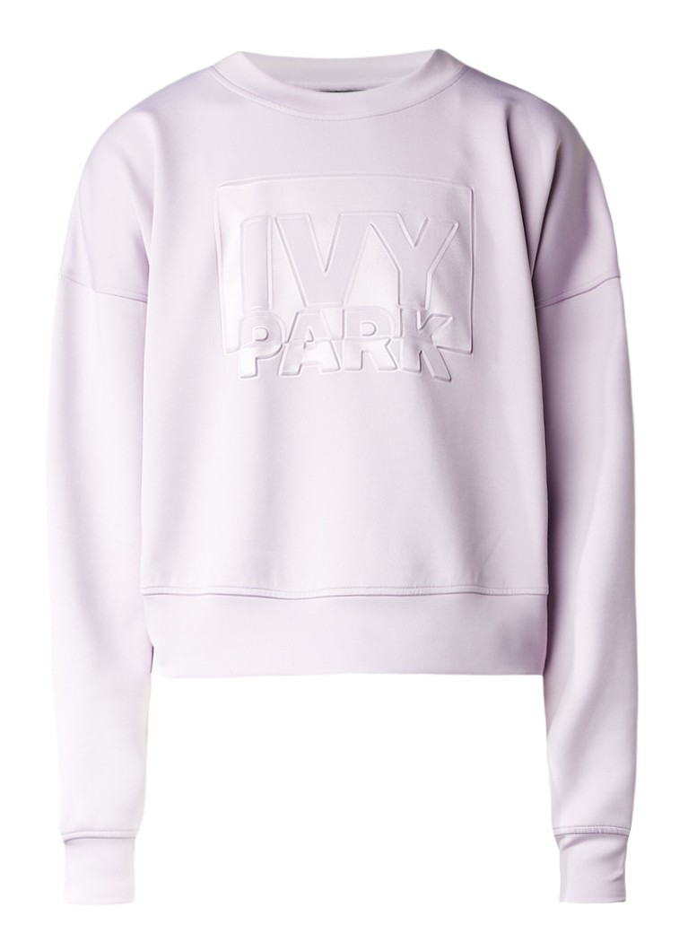 IVY PARK Sweater met gestanste logoprint