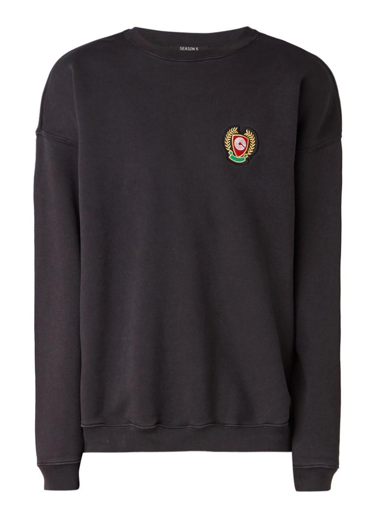 Yeezy Sweater met badge en opdruk