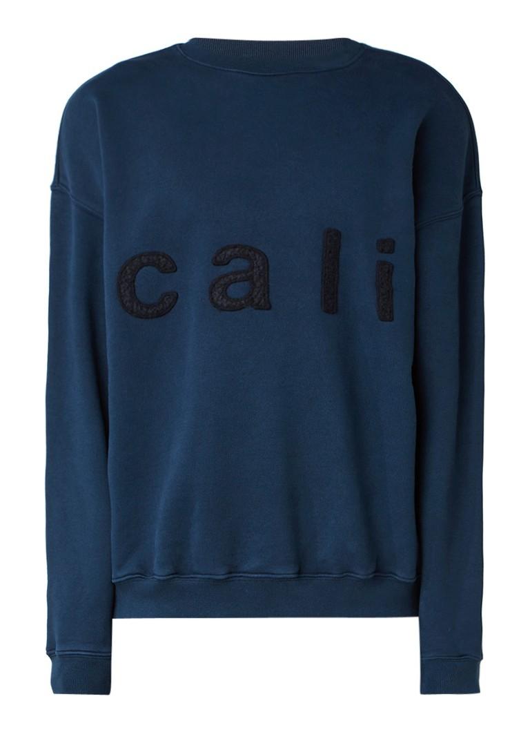 Yeezy Sweater met tekstapplicatie