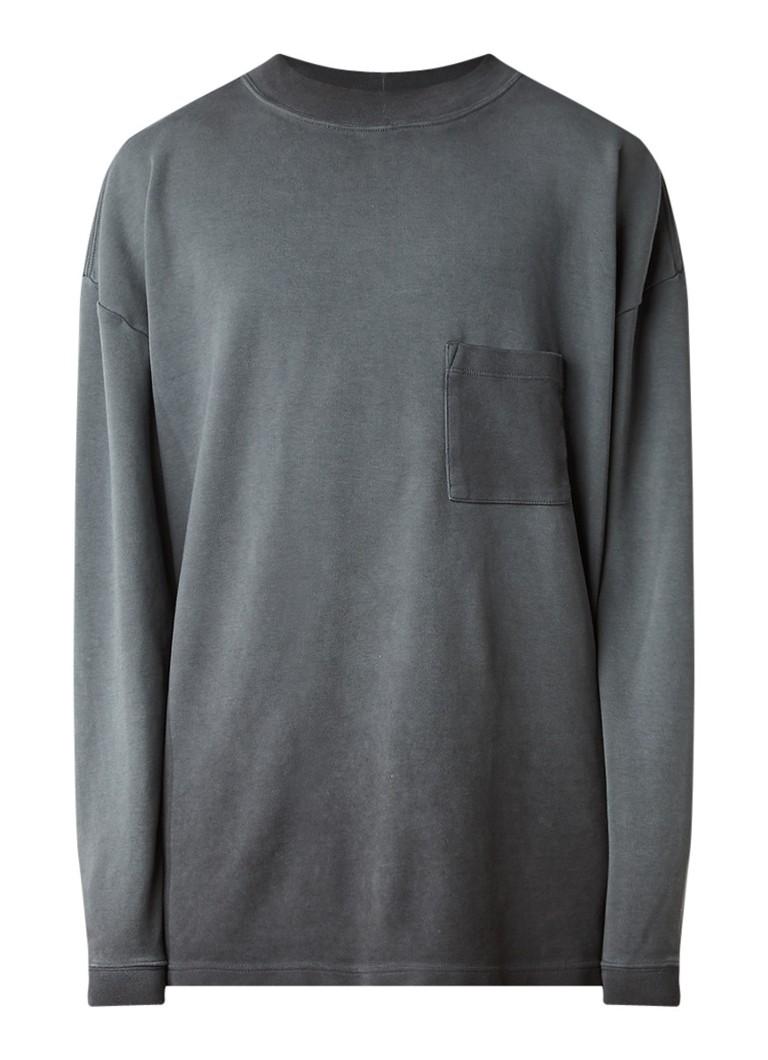 Yeezy Season 4 oversized sweater met borstzak