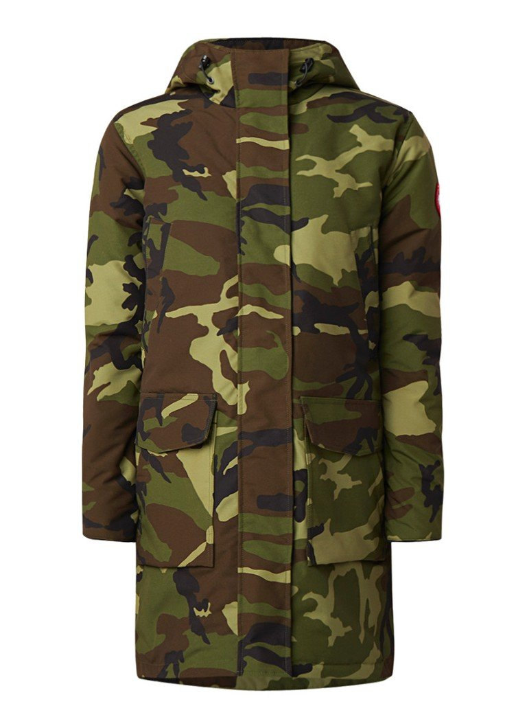 Canada Goose Canmore parka met camouflageprint