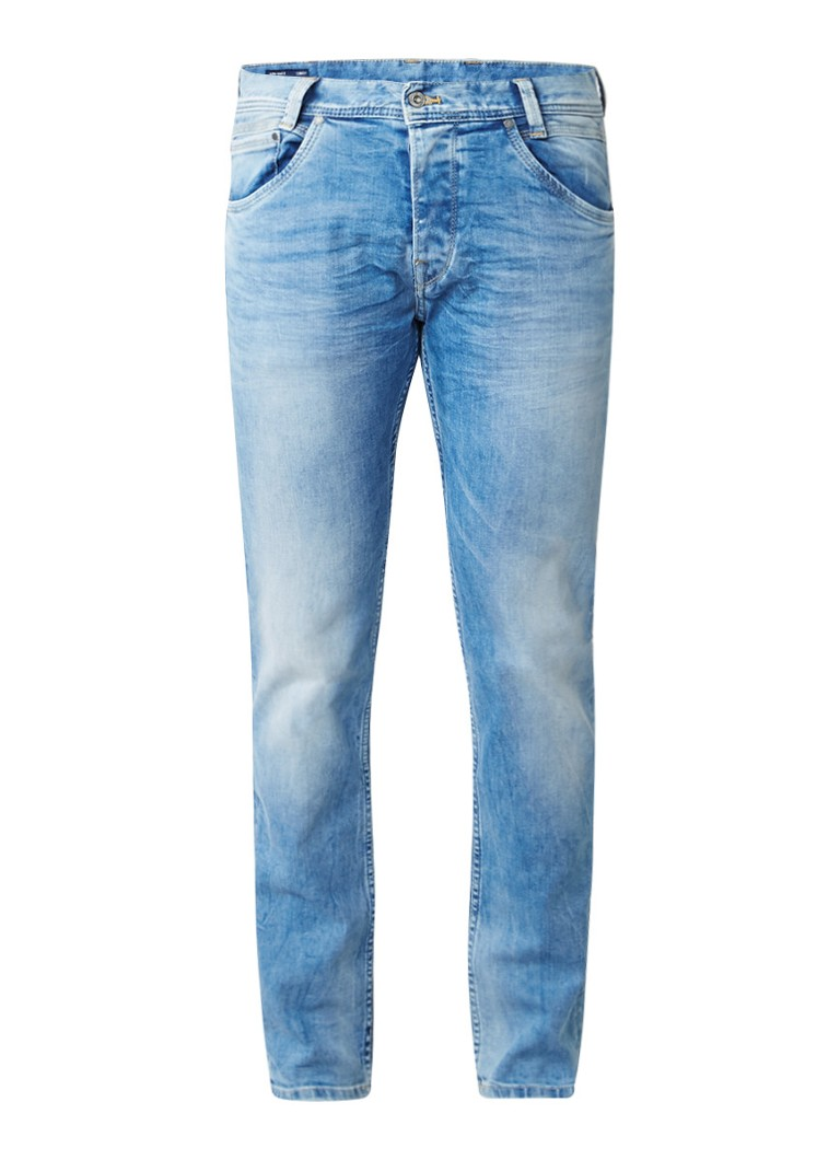 Pepe Jeans Spike low rise slim fit jeans met stretch