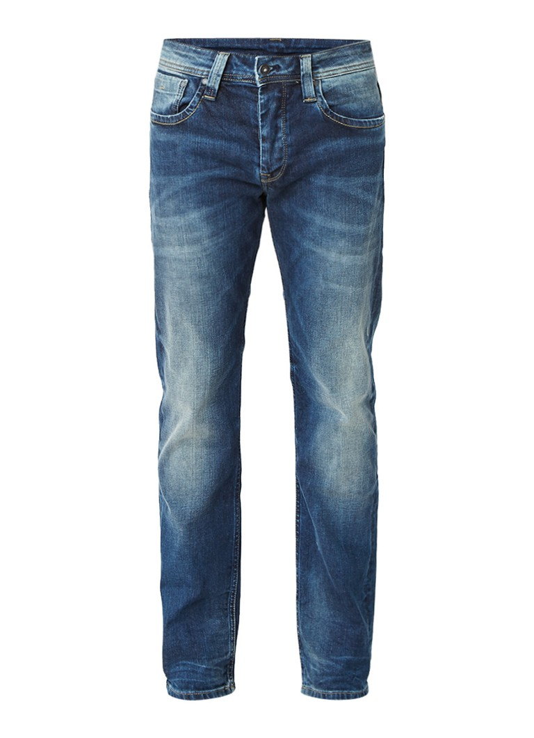 Pepe Jeans Cash mid rise straight fit jeans