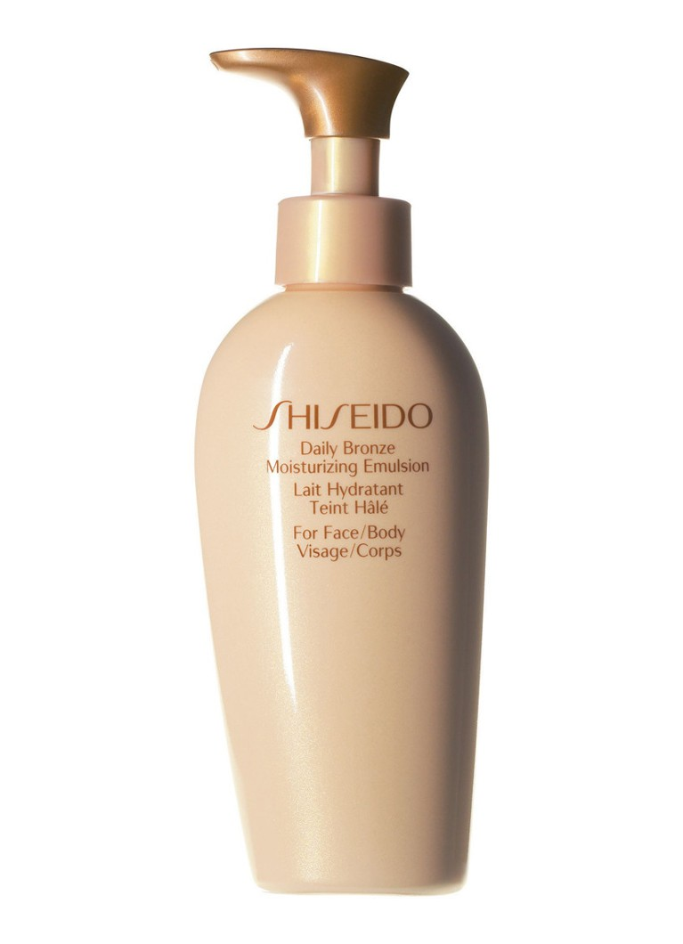 Shiseido Global Sun Care Daily Bronze Moisturizing Emulsion zelfbruiner