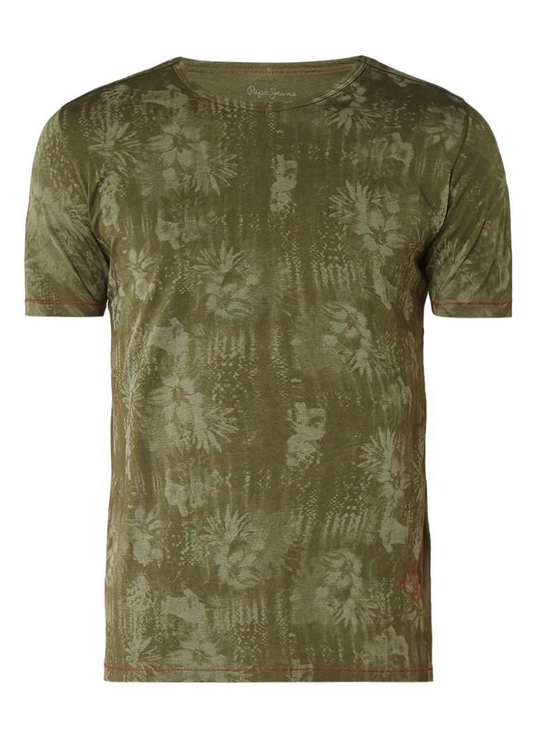 Pepe Jeans Gibbon T-shirt met faded print