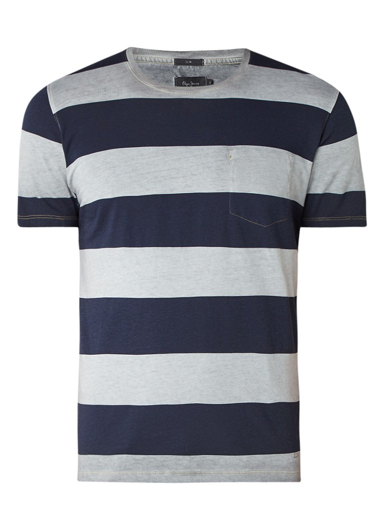 Pepe Jeans Betula T-shirt met streepdessin